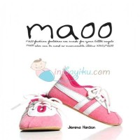 Maoo Baby Shoes Jemima Hanson Size M (12,5cm) Color Pink White Age 6M