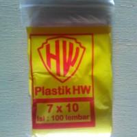 harga Plastik Zipper Hw 7 X 10 Cm / 100 Pcs Tokopedia.com
