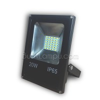 Lampu Led Sorot slim 20W Outdoor SMD - Flood Light LED