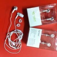 Earphone Handsfree Roman Putih Jack 3,55 Mm For Android Bb Iphone