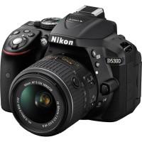 Kamera Nikon D5300 + 18-55, Camera Nikon D 5300 Kit, Crop Factor 24MP