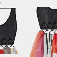 Harga gantungan scarf jilbab dan organizer kecil | WIKIPRICE INDONESIA