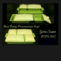 Basin Tutup Prasmanan Segi - Golden Sunkist BTPS-2017
