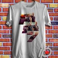 Jual Kaos Oblong, Tshirt Design - Kaos Movie Fast & Furious 8 Logo Murah