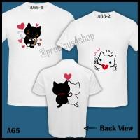 Kutsushita Nyanko Cat San-X | Kaos Couple | Family T-Shirt