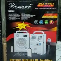 speaker portable wireless PA amplifier bismarck BM-337U meeting toa