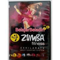 7DVD Senam Zumba Fitness Exhilarate-Bakar Kalori dgn Gerakan Sederhana