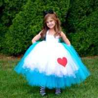 Alice In Wonderland Tutu Dress Anak