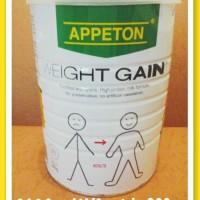 Susu Appeton Weight Gain 900gr dewasa/adults