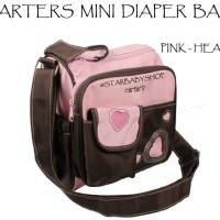 Tas Bayi Carters Mini Diaper Bag Pink Heart