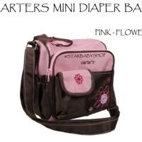 Tas Bayi Carters Mini Diaper Bag Pink Flower