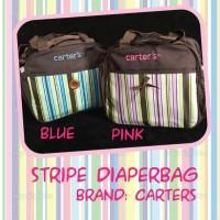Tas Bayi Carters Diaper Bag Stripe