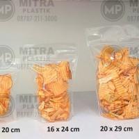 Plastik Klip Berdiri / Standing Pouch 12x20 cm