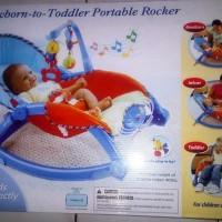 Fisher Price Newborn to Toddler Portable Rocker Baby Bouncer Bayi