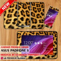 [Original] Premium Garskin Asus Tab PadFone S - Leopard Tiger Skin