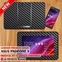 [Original] Premium Garskin Asus Tab PadFone S - Black Carbon Skin