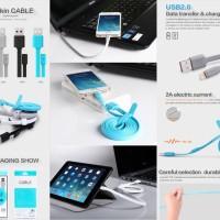 harga Nillkin Cable Usb Kabel Data Charger Iphone 6 6s 5 5s Ipad Ipod Plus Tokopedia.com