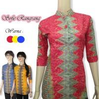 [blouse Wanita] Blouse Batik Wanita Motif Rangrang Murah