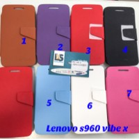 lenovo vibe x wallet kingcase flip cover case casing s960 s 960