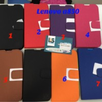 Lenovo A850 Wallet Anymode Sarung Casing Cover Soft Case A 850