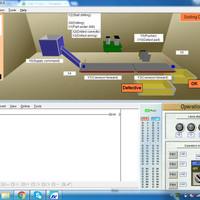 Trainer + Simulator Belajar PLC