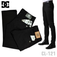 Jual Celana Chino Dcshoecousa / DC Formal Hitam / Black Murah