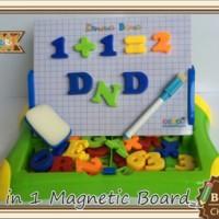 Mainan Edukatif / Edukasi Anak - Learning Magnetic Board / Papan Tulis