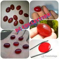harga Batu Akik Natural Red Baron Hq Tokopedia.com