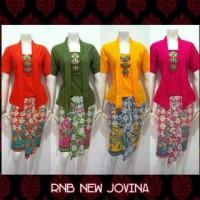 RnB New Jovina Kutu baru pendek Kebaya Batik Modern Tradisional Jawa