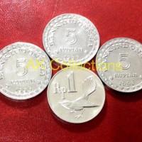 Paket Uang Kuno koin 16 Rupiah untuk mahar pernikahan 5x3 + 1