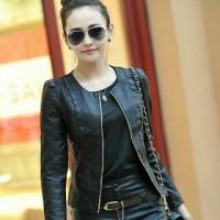 jaket kulit prily/jaket kulit masa kini/jaket wanita/anak jalanan