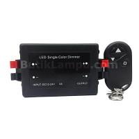 Dimmer LED Satu Warna Plus Remot