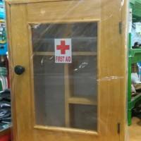 Jual kotak obat p3k kayu lemari obat ukuran Large Murah