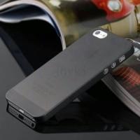 harga Iphone 5 5S Soft Case Slim Fit semi Transparan black Tokopedia.com