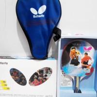 harga Paket Bet Bat Tenis Meja Pingpong Set Lengkap Butterfly Profesional Tokopedia.com