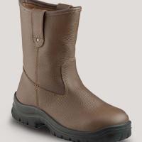 Jual Sepatu Safety Krushers Texas Brown Murah