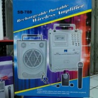 harga Speaker Portable Wireless Pa Amplifier Soundbest Db-778 Toa Meeting Tokopedia.com