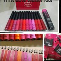Nyx girls matte black label lipgloss 24hours