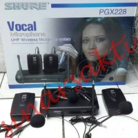 Mic wireless shure PGX 228 ( clip on + headset )