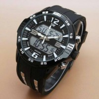 Jam Tangan Fortuner AD2813 / AD 2813 / Double Time Rubber (Tali Karet)