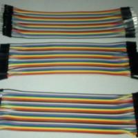 1 sheet (40 pcs) 20cm Kabel Jumber Dupont line (M-M / M-F / F-F)