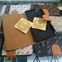 Leather Case Dompet Xperia Z Motif Gucci Guess