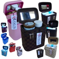 Tas Kosmetik / Tempat Makup / Beauty Case / Box Make Up BANYAK WARNA