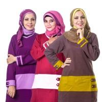 Baju Muslim Atasan Murah Believe / Model Tunik Simple Blus Kaos Santai