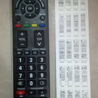 REMOT/REMOTE TV PANASONIC LCD/LED/PLASMA MULTI/UNIVERSAL