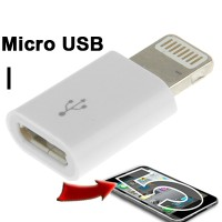 Connector Converter Adapter Micro Usb to Lightning 8 Pin Iphone 5 6