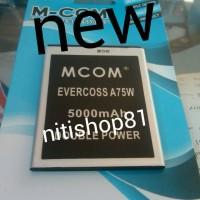 harga Baterai Evercoss/cross A 75w Double Power Merk Mcom Tokopedia.com