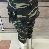 harga Celana Senam 3/4 Rok Army/loreng Tokopedia.com
