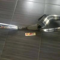 harga knalpot vespa newspeed racing kanan Tokopedia.com