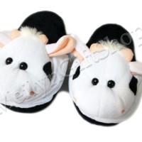 harga SBA01 - Sandal Tidur Sandal Kamar Sandal Boneka Anak Sapi Cow Tokopedia.com